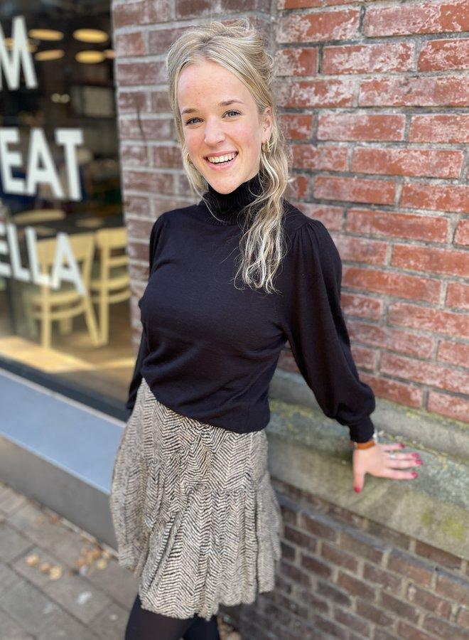 Second F. rosie knit black