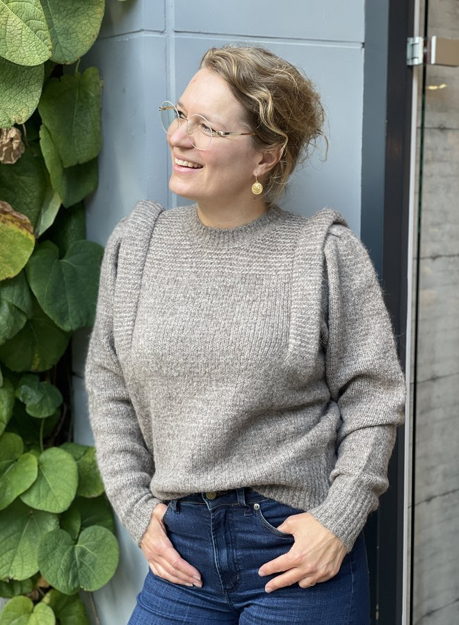 Second F. abby knit otter