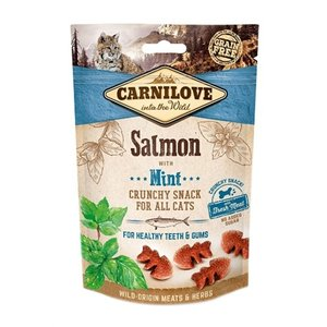 Carnilove Carnilove crunchy snack zalm / munt