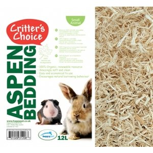 Critter's choice Critter's choice aspen bedding