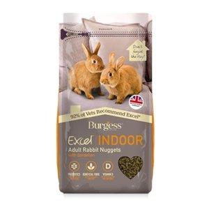 Burgess Burgess excel indoor rabbit nuggets