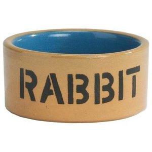 Merkloos Konijnenbak rabbit geglazuurd