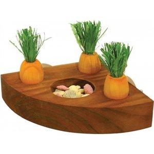 Rosewood Rosewood wortel speelgoed en snackhouder