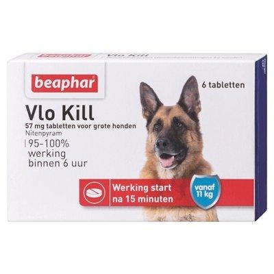 Beaphar Beaphar vlo kill+ grote hond vanaf 11 kg