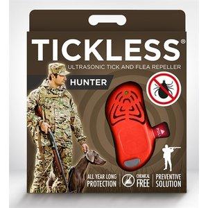 Tickless Tickless teek en vlo afweer voor jagers  fluoriserend oranje