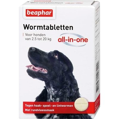 Beaphar Beaphar wormtablet all-in-one hond