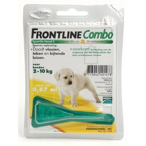 Frontline Frontline combo puppypakket