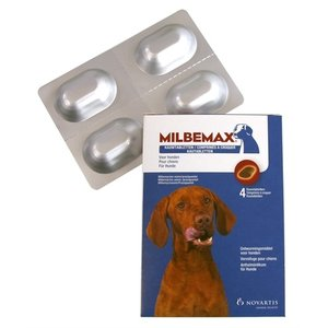 Milbemax Milbemax kauwtablet ontworming hond