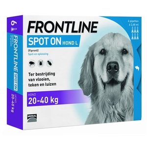 Frontline Frontline hond spot on large