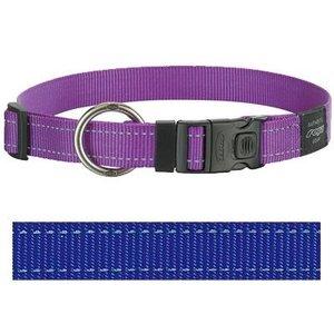 Rogz for dogs Rogz for dogs lumberjack halsband blauw