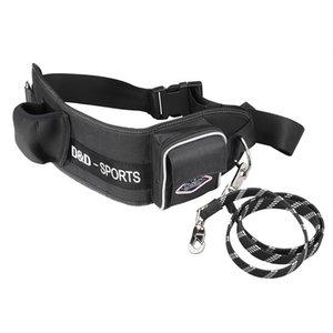 D&d D&d hondenriem sports walker reflecterend grote hond zwart