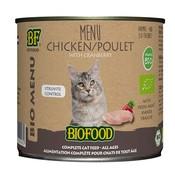 Biofood 12x biofood organic kat kip menu blik