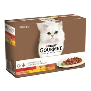 Gourmet Gourmet gold 12-pack fijne hapjes