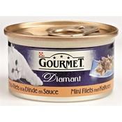 Gourmet 24x gourmet diamant mini filets met kalkoen