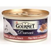 Gourmet 24x gourmet diamant mini filets met rundvlees