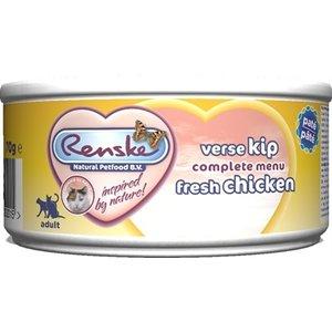 Renske 24x renske vers vlees maaltijd kat verse kip patÉ