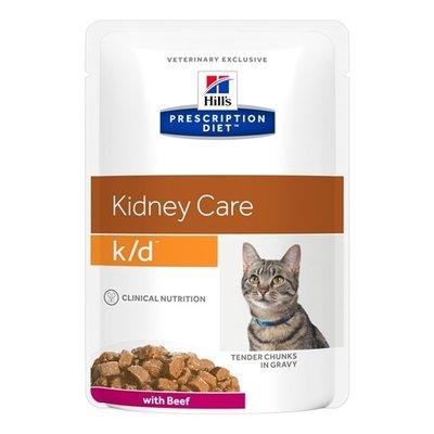 Hill's prescription diet 12x hill's feline k/d rund