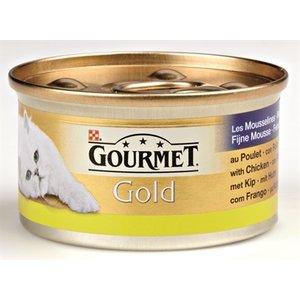 Gourmet 24x gourmet gold fijne mousse kip