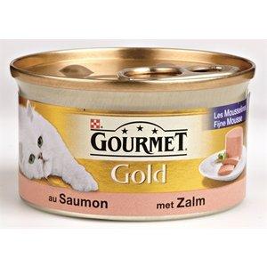 Gourmet 24x gourmet gold fijne mousse zalm