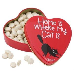 Sanal Sanal hartenblik home is where my cat is gistsnoepjes