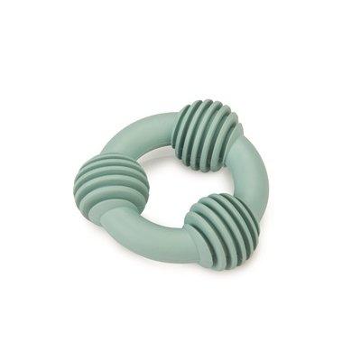 Beeztees Beeztees puppy dental ring rubber groen