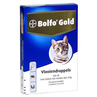 Bolfo Bolfo gold kat vlooiendruppels