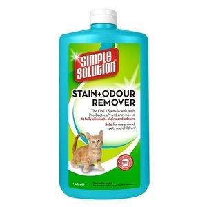 Simple solution Simple solution stain & odour vlekverwijderaar kat navulling