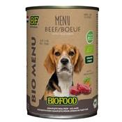 Biofood 12x biofood organic hond rund menu blik