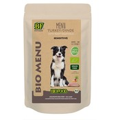 Biofood 15x biofood organic hond kalkoen menu pouch