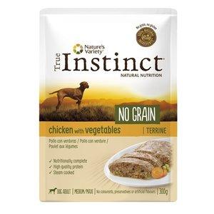 True instinct True instinct pouch no grain medium adult chicken terrine