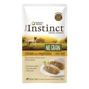 True instinct True instinct pouch no grain mini adult chicken pate