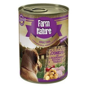 Farm nature Farm nature rabbit / potatoes / apples / thyme