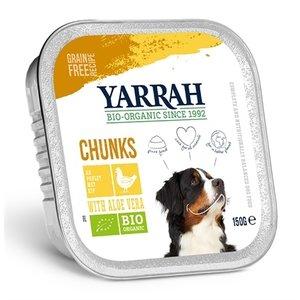 Yarrah Yarrah dog alu brokjes kip / aloe vera in saus graanvrij