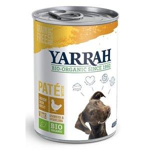 Yarrah 12x yarrah dog blik pate met kip