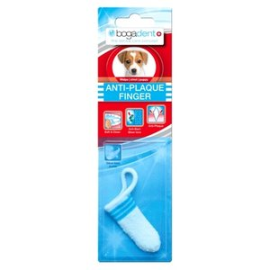Bogadent Bogadent plaque vinger tandenborstel puppy