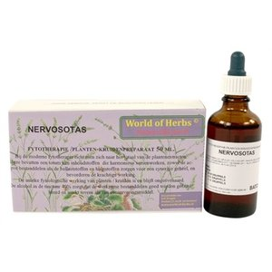 World of herbs World of herbs fytotherapie nervosotas