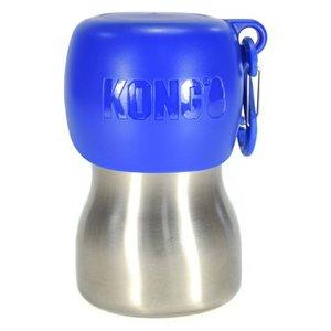 Kong Kong h2o drinkfles rvs blauw