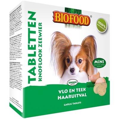 Biofood Biofood hondensnoepjes zeewier bij vlooien