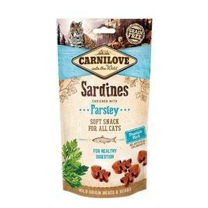 Carnilove Carnilove soft snack sardines / peterselie