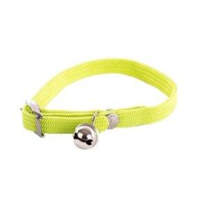 Martin sellier Halsband kat elastisch nylon groen
