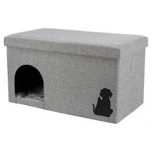 Trixie Trixie kattenhuis kimy grijs