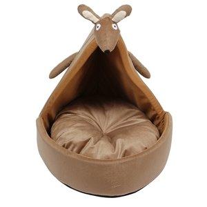 Ministry of pets Ministry of pets kattenmand iglo kylie de kangeroe bruin