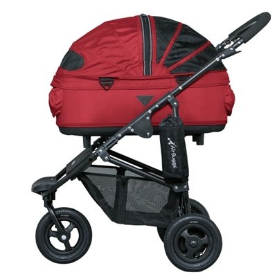 Airbuggy Airbuggy hondenbuggy dome2 m met rem tango red