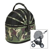 Airbuggy Airbuggy hondenbuggy cot s plus camouflage