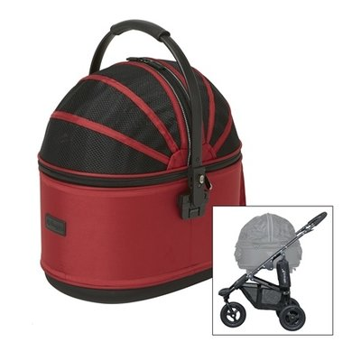 Airbuggy Airbuggy hondenbuggy cot s plus met rem rood