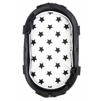 Airbuggy Airbuggy mat voor dome2 sm ster zwart / wit