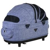 Airbuggy Airbuggy reismand hondenbuggy dome2 m cot gemeleerd denim