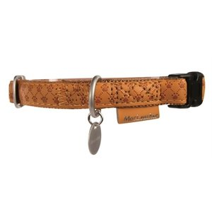 Macleather Macleather halsband bruin