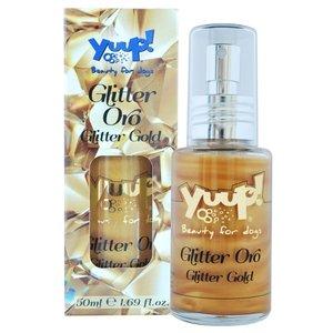 Yuup! Yuup! fashion glitter gold hondenparfum