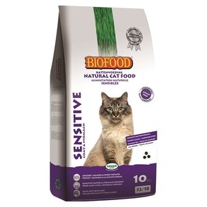 Biofood Biofood premium quality kat sensitive coat / stomach
